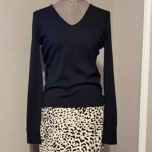 Ann Taylor black sweater size small